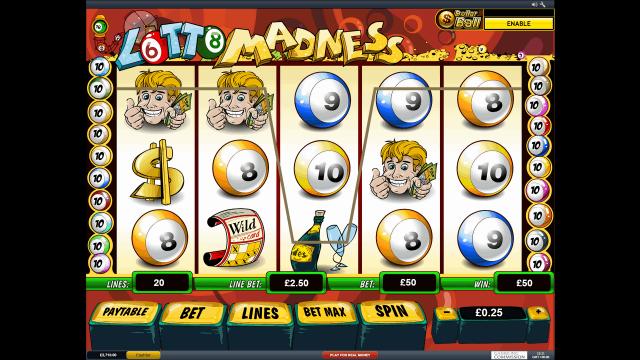 онлайн аппарат Lotto Madness 8
