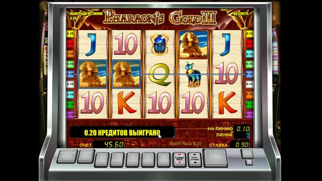 онлайн аппарат Pharaoh's Gold III 6