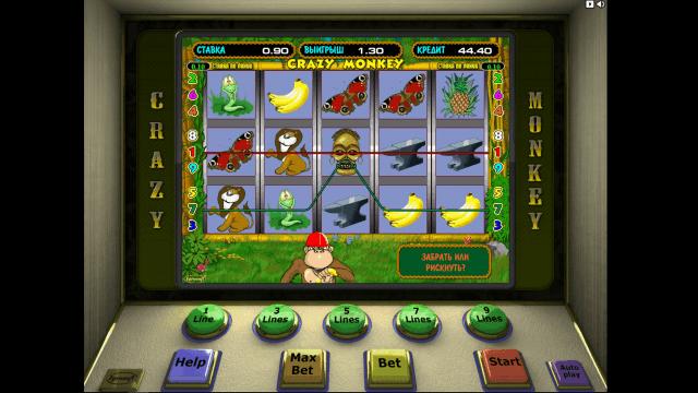 игровой автомат Crazy Monkey 5