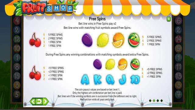 игровой автомат Fruit Shop 4