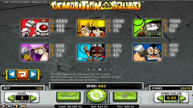 популярный слот Demolition Squad 9