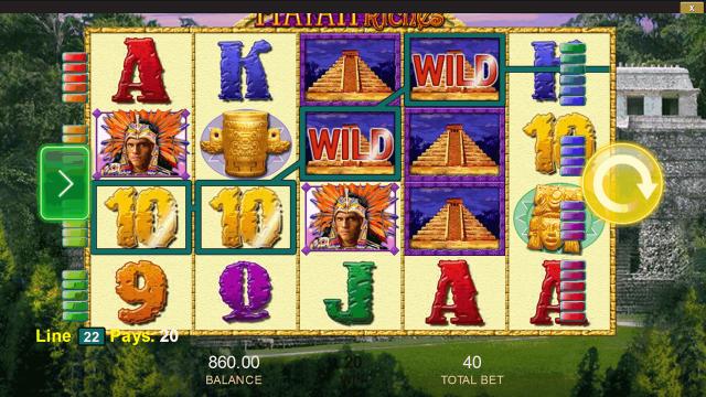игровой автомат Mayan Riches 1