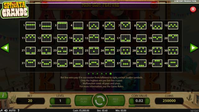 игровой автомат Spinata Grande 6