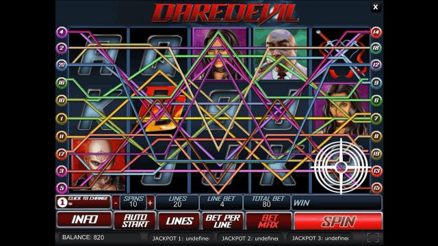 игровой автомат Daredevil 3