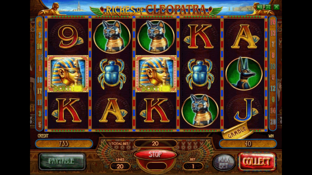 онлайн аппарат Riches Of Cleopatra 8