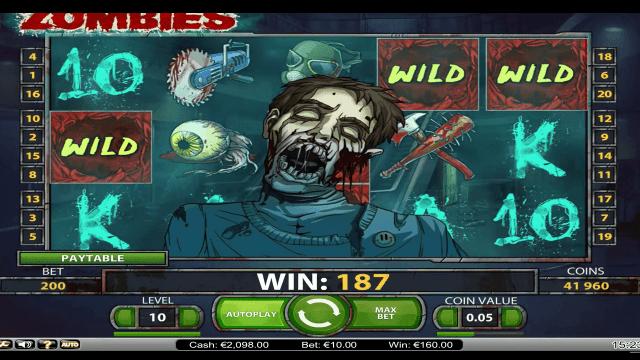 игровой автомат Zombies 6