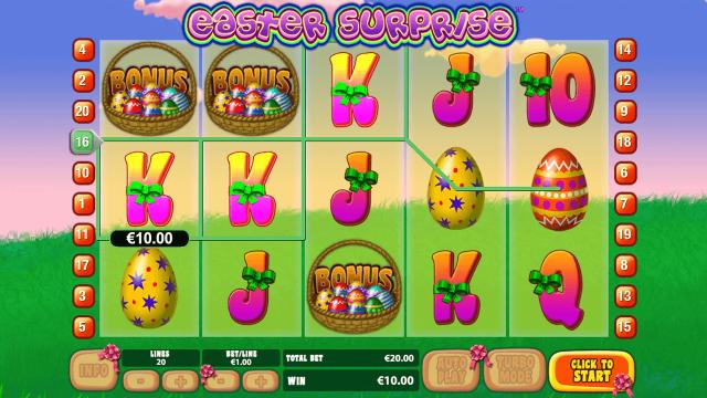 игровой автомат Easter Surprise 9