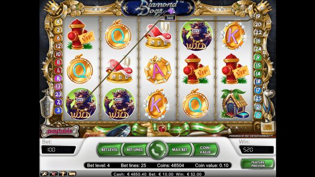 игровой автомат Diamond Dogs 10