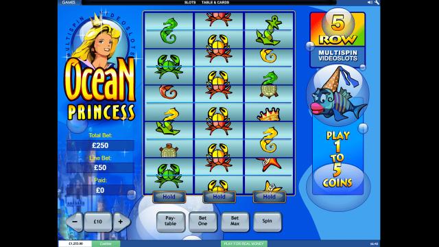игровой автомат Ocean Princess 8