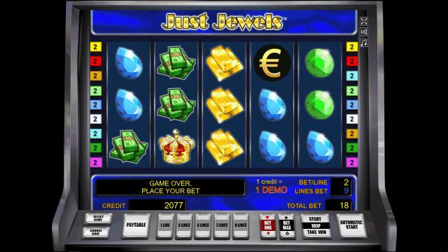 игровой автомат Just Jewels 10