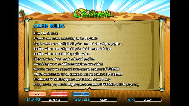 онлайн аппарат Crocodopolis 9
