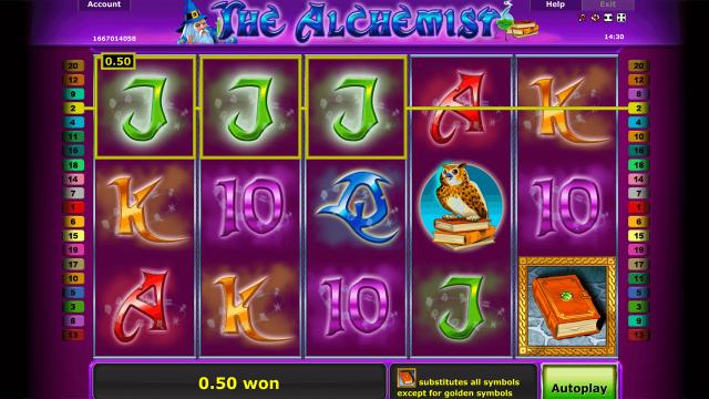 игровой автомат The Alchemist 9