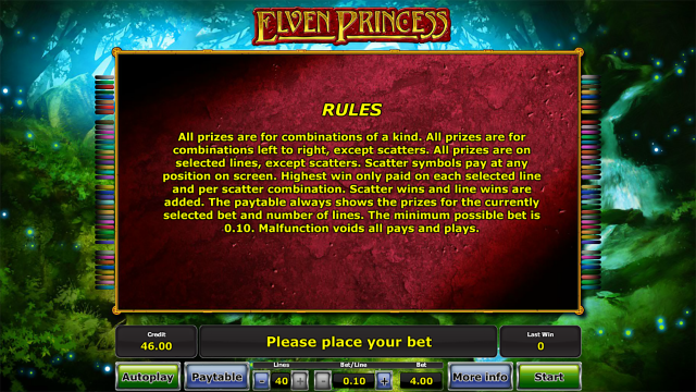 игровой автомат Elven Princess 5