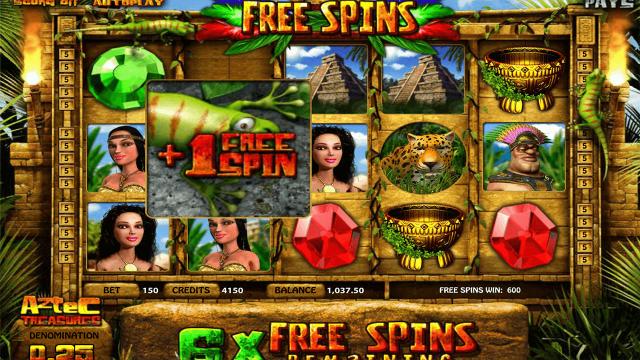 игровой автомат Aztec Treasures 3D 4
