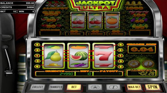 игровой автомат Jackpot Ultra 1