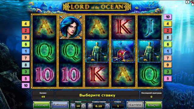 игровой автомат Lord Of The Ocean 3