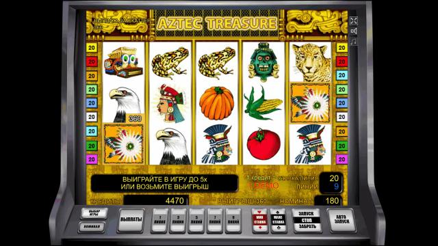 онлайн аппарат Aztec Treasure 8