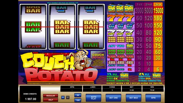 игровой автомат Couch Potato 10