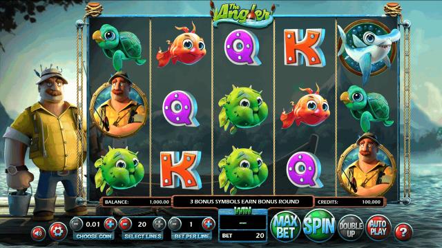 игровой автомат The Angler 1