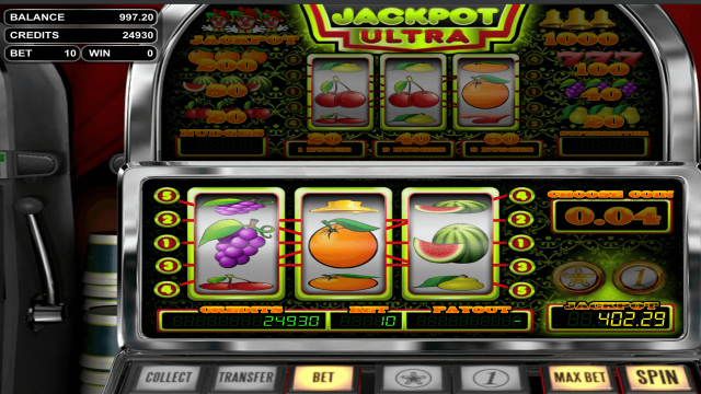 популярный слот Jackpot Ultra 7