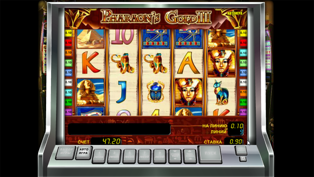 игровой автомат Pharaoh's Gold III 5