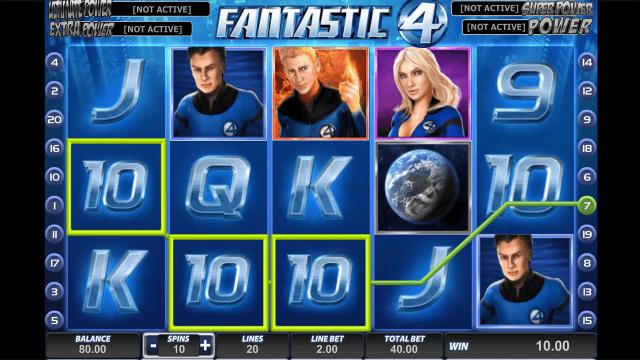 популярный слот Fantastic Four 9