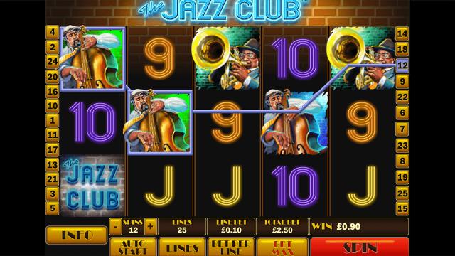 онлайн аппарат The Jazz Club 9