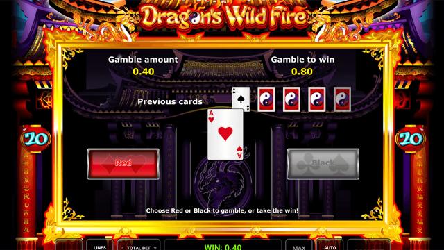 онлайн аппарат Dragon's Wild Fire 5