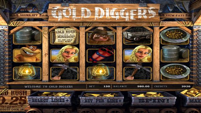 игровой автомат Gold Diggers 10