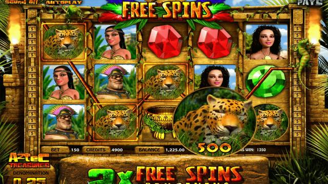 игровой автомат Aztec Treasures 3D 8