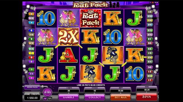 популярный слот The Rat Pack 7