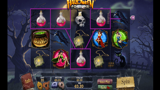 онлайн аппарат Halloween Fortune 1