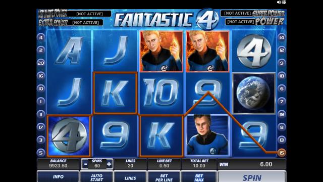 игровой автомат Fantastic Four 13