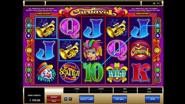 игровой автомат Carnaval 9