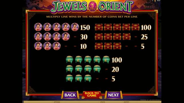 игровой автомат Jewels Of The Orient 5