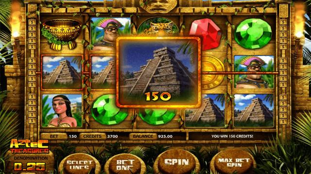 игровой автомат Aztec Treasures 3D 2
