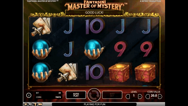 онлайн аппарат Fantasini: Master Of Mystery 10