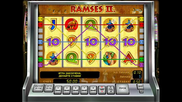 игровой автомат Ramses II 3