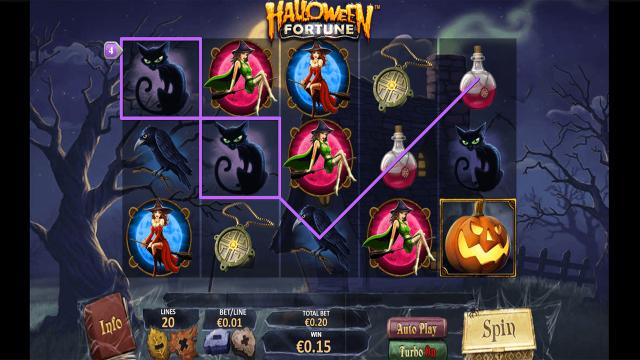 онлайн аппарат Halloween Fortune 9