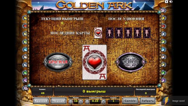 популярный слот Golden Ark 4