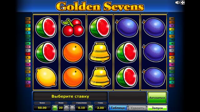 популярный слот Golden Sevens 1