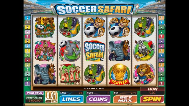 игровой автомат Soccer Safari 1