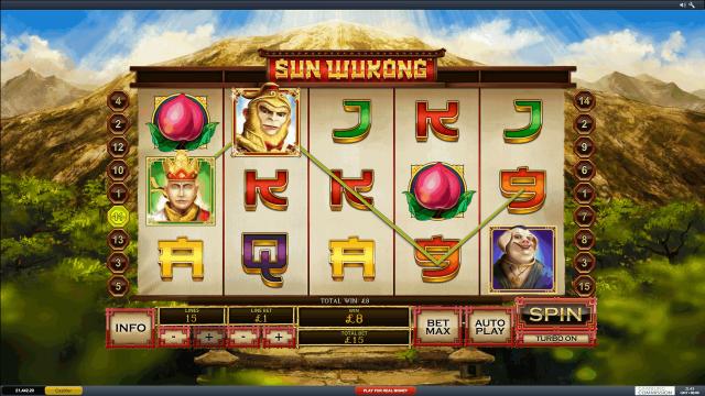 игровой автомат Sun Wukong 9