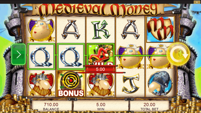 онлайн аппарат Medieval Money 7