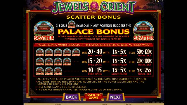 игровой автомат Jewels Of The Orient 2