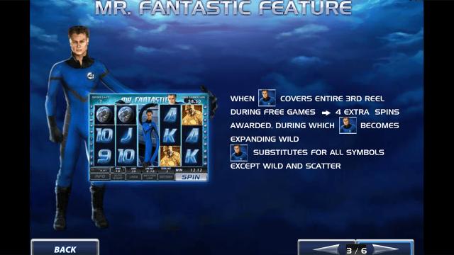 игровой автомат Fantastic Four 4