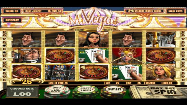 популярный слот Mr. Vegas 6