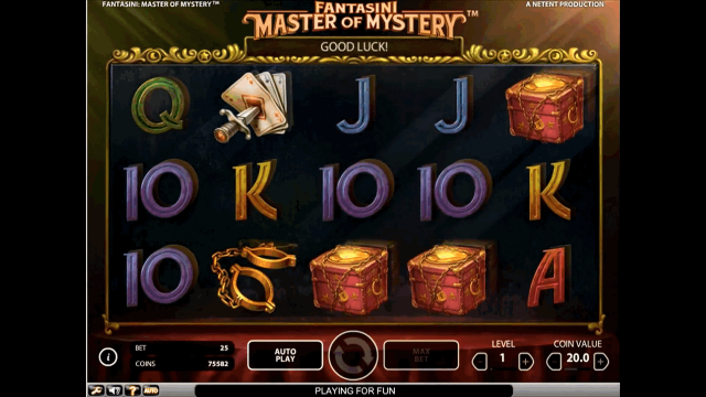 онлайн аппарат Fantasini: Master Of Mystery 7