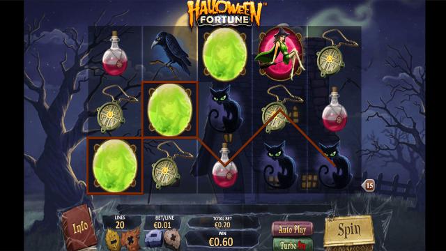 онлайн аппарат Halloween Fortune 5