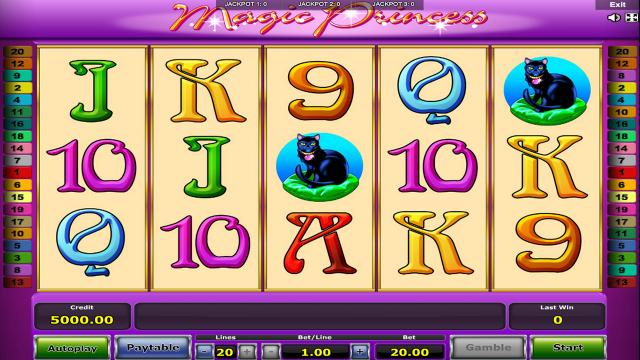 игровой автомат Magic Princess 1